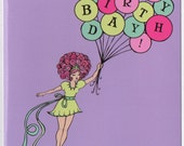 Bundle of Balloons Birthday Card