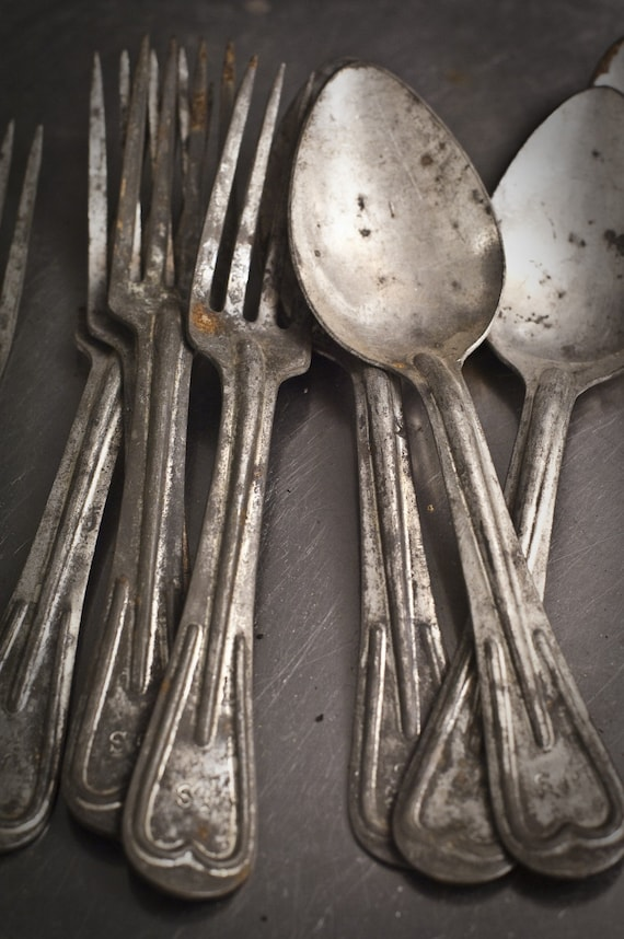 Old US Military Flatware