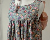 Girl's Pioneer Pinafore and Bonnet Set