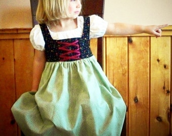 Gretel's Peasant Outfit Sizes 2-12