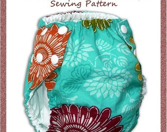 Cloth Swim Diaper Sewing Pattern - INSTANT DOWNLOAD