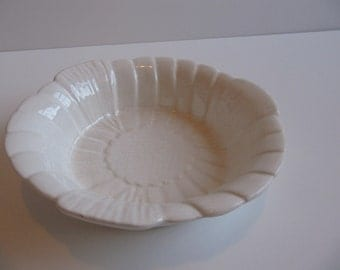 Vintage Bowl California Pottery with Art Deco Styling