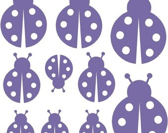 Lady Bugs Wall Decal