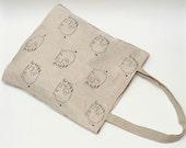 """Linen Market Bag. Size: 13"""" x 13"""""""