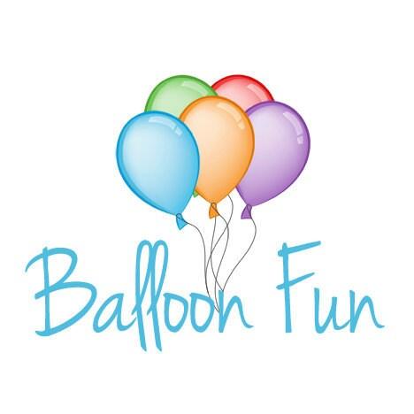 Shop Banner Premade Logo Design Includes Balloon By Logolane