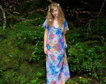 Ophelia Drowns In Flowers Dress