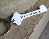 Keychain -- Key to my heart