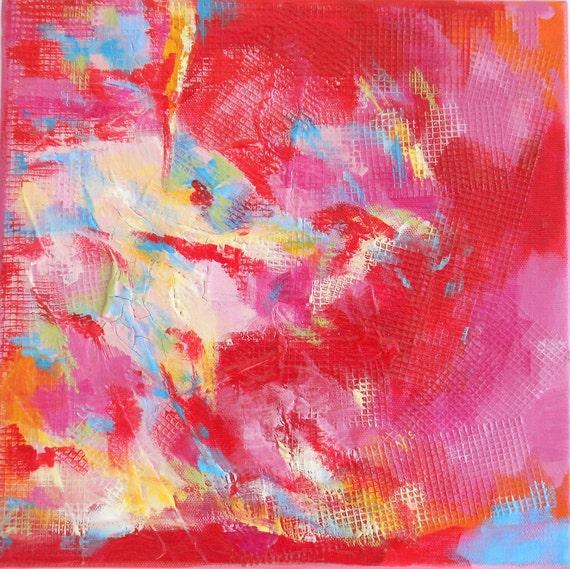 Abstract Mixed Media Original Painting