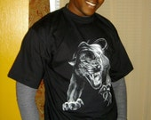 Black panther t shirt - graphic tees for men, fathers day t shirt gift