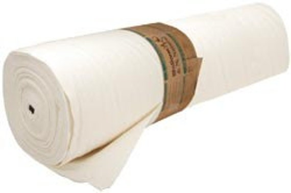 Warm  and Natural 100 % Cotton QUILT Bat Batting  Quilting 90 inch by the yard
