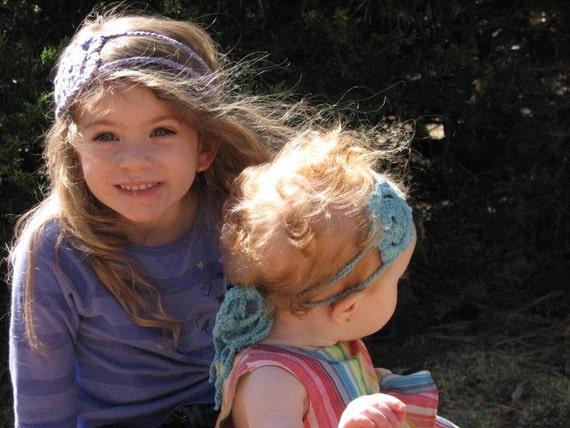 pdf crochet FLOWER headband TUTORIAL..super-easy to make