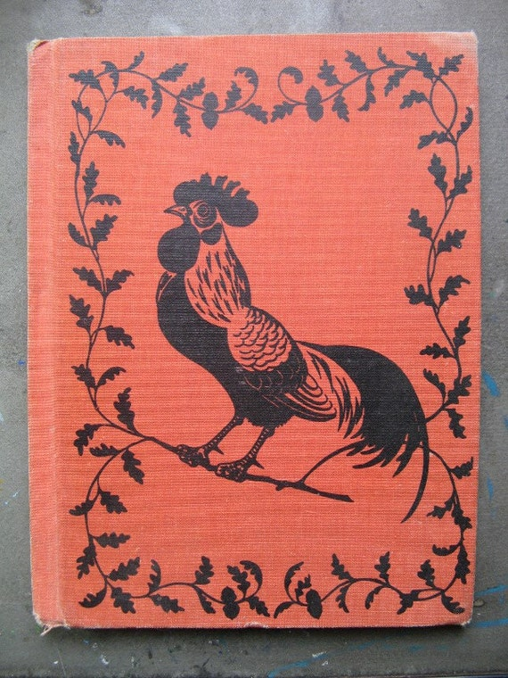 Vintage Hardback Children's Book - Chanticleer and the Fox by Geoffrey Chaucer, Barbara Cooney