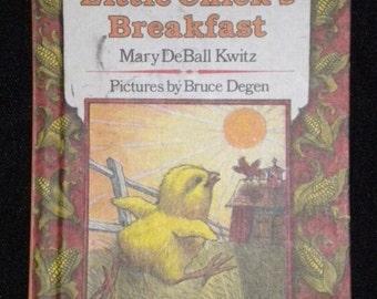 Little Chick's Breakfast 1983 Vintage Childrens Book