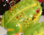Baby Frog Tree Frog - Painted
