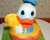 SALE SALE 1985 Donald Duck Bath Toy