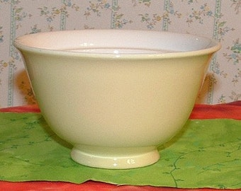 Golden Yellow Sugar Bowl with White inside Repurpose into Soap dish, catch-all dish, sewing supplies