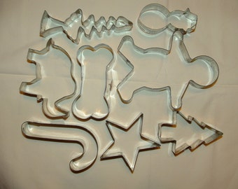 Assortment of Cookie Cutters