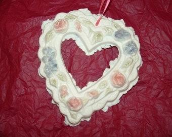Be Mine handmade paper heart