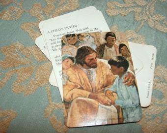 1964 A Child's Prayer cards