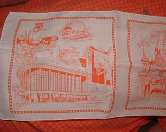 Sale.......1980 Los Angeles Decade 80 Showcase  scarf