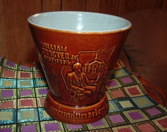 1967 Schering Series Ceramic  Mortar with William Procter Jr . embossed on front