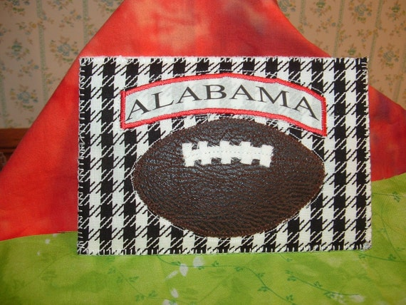 Alabama Football postcard