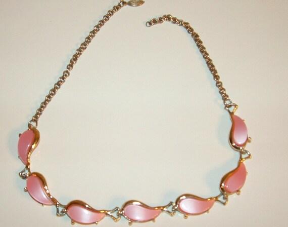 SALE SALE Vintage Pink Choker Necklace