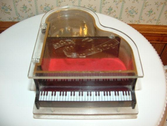 1980s Grand Piano Jewelry box