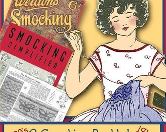 You CAN Learn how to Smock - Two e-booklets '30s and '40s