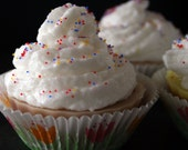Spring Cupcake Glycerin Soap for Birthdays, Easter Gifts, or Party Favors on Sale
