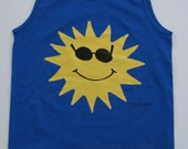 CoolRays Tank Top on a Gildan Ultra Cotton, 6.1 oz. Shirt, Adult S M L XL and 2XL