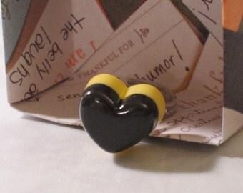 Chocolate Heart Ring