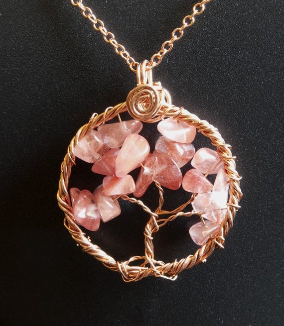 Handmade Jewelry, Necklace, Tree of Life, Copper, Pendant, Jewelry by melissamyth on etsy