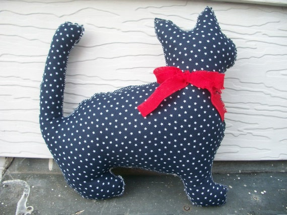 Cat Plush Pillow/ American Kitty Collection - Samuel