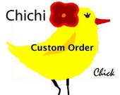 Custom Listing For Chef D