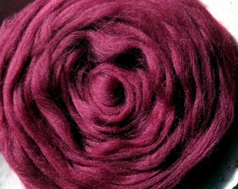 Maroon Ashland Bay Colonial for Spinners and Felters