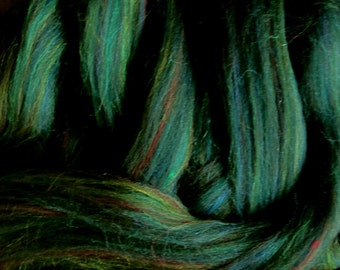 Ashland Bay Colonial Green multi for Spinners and Felters