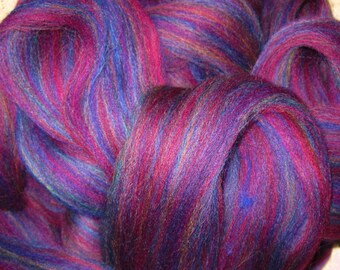 Rich and Stunning Burgundy Ashland Bay Colonial multi for Spinners and Felters Super Fast Shipping!