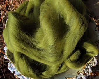 Olive Ashland Bay Merino 64s Earthy Color