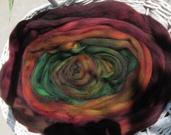 Rosewood Kettle Dyed Superwash Longwool Top