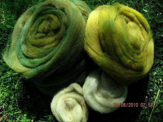 Moss Colors Longwool Felters Special