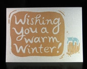 Wishing You a Warm Winter (greeting card)
