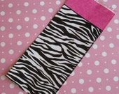 Zebra and Hot pink cello favor bags Birthday girls party supplies
