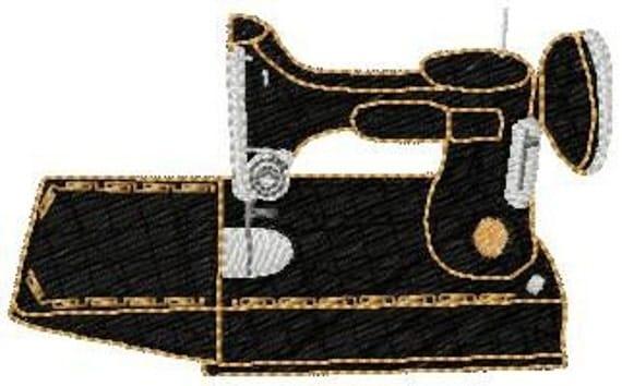Machine Embroidery Design Singer Featherweight