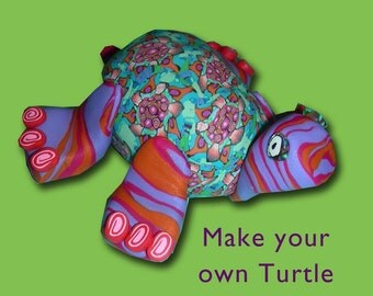 Turtle Silly Milly Sculpture Kit - polymer clay