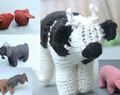 Knitted Farmyard Set