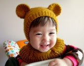 18-36months Honey Bear Coverall Hat    #159