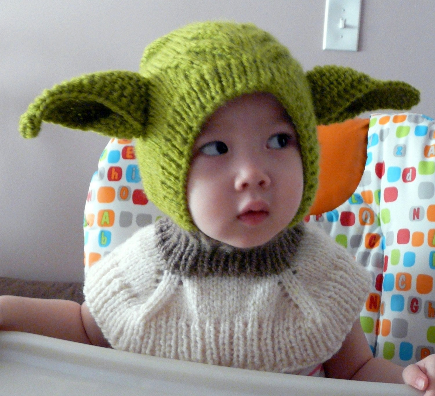 Yoda star wars coverall hat 9-18months