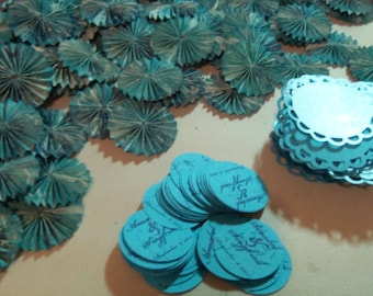 Wedding Paper Rosettes - Made to Order Set of 25