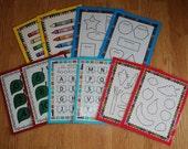 Set of Five Printable Games